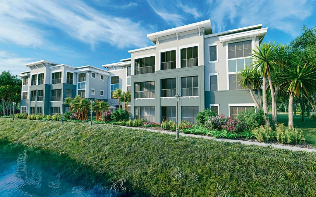 New Renderings of Lakehouse Buildings Showcase Spacious, Private, Dynamic Retirement Living