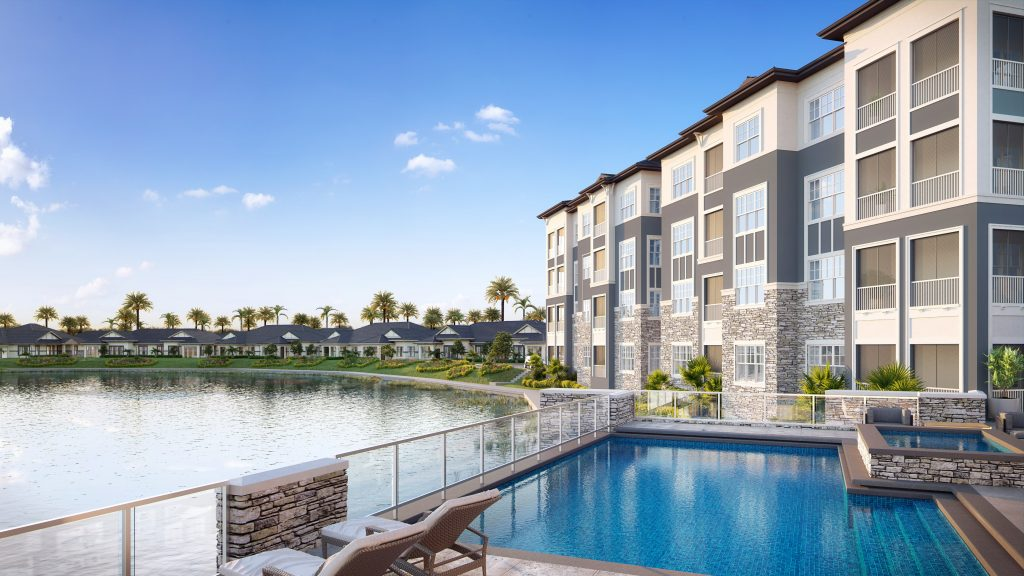 New renderings of Lakeside at Waterman Village preview life around Lake Margaret in Mt. Dora!