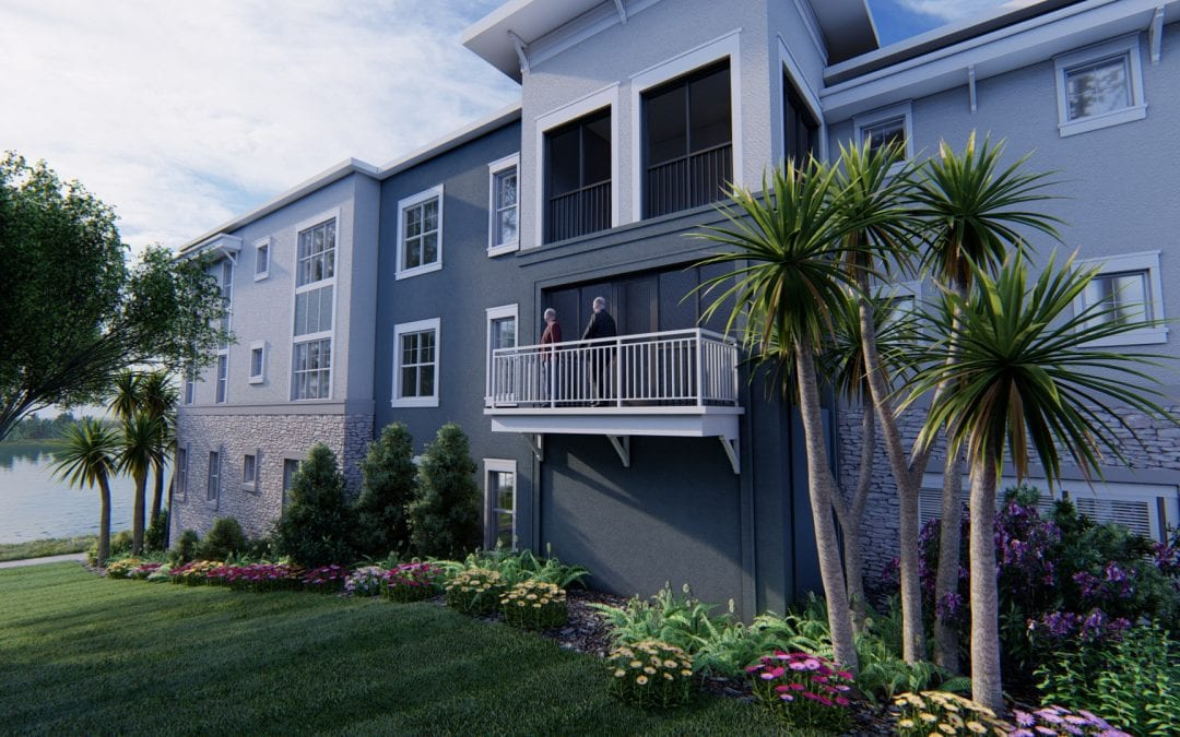 Explore the Options for Waterfront Senior Living in Mount Dora (And See 3 New Renderings of Our Lakehouse Residences!)
