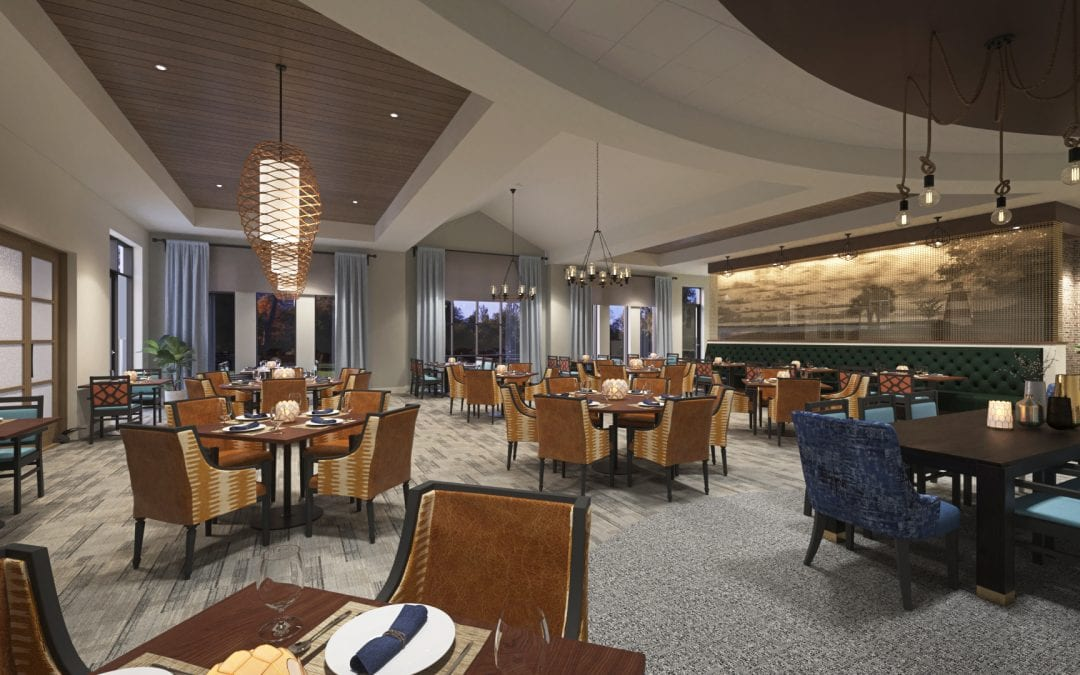 More Delicious Details on the Restaurant & Bar Spaces at Lakeside at Waterman Village